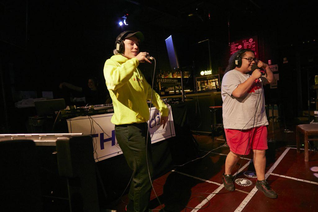 THF Radio @ PANDA Theater – Photo: Phillip Zwanzig