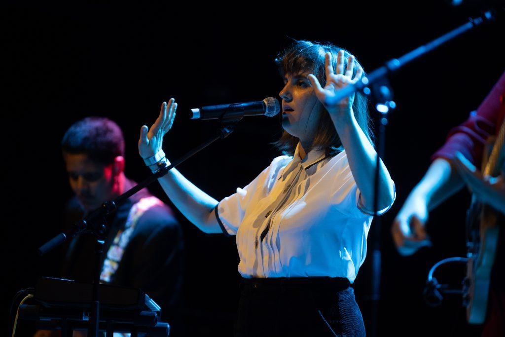 Albertine Sarges @ Kesselhaus – Photo: Camille Blake