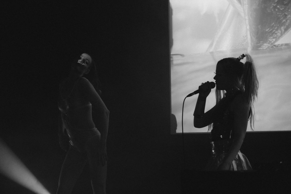 Apex Anima & FRZNTE @ Maschinenhaus – Photo: Camille Blake