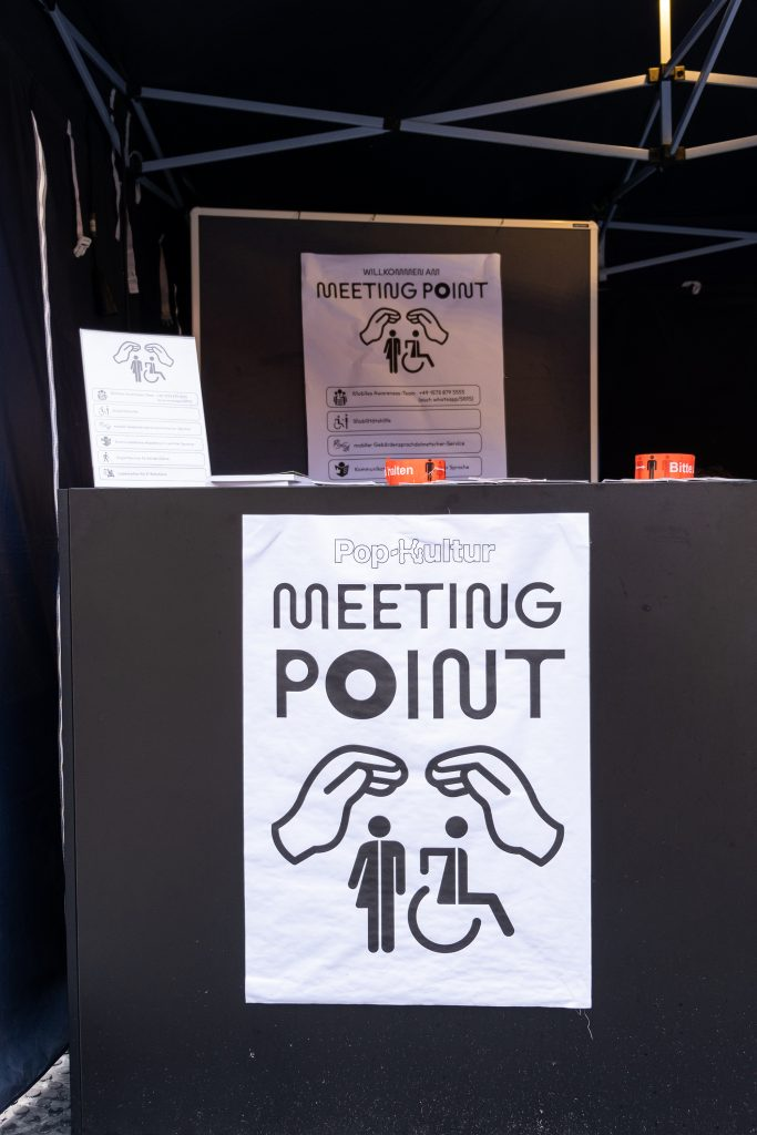 »Pop-Kultur« 2021 – Awareness – Photo: Käthe deKoe
