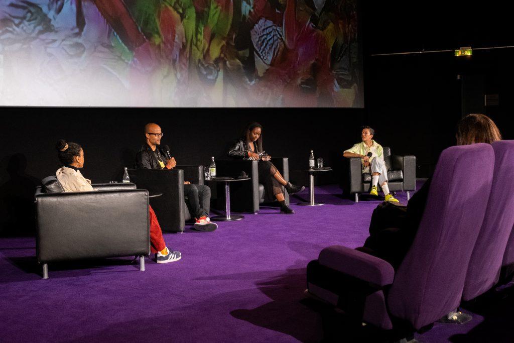 »Blackout Tuesday – Auswirkungen für die deutsche Musikindustrie« / Talk @ Kino in der Kulturbrauerei – Photo: Käthe deKoe