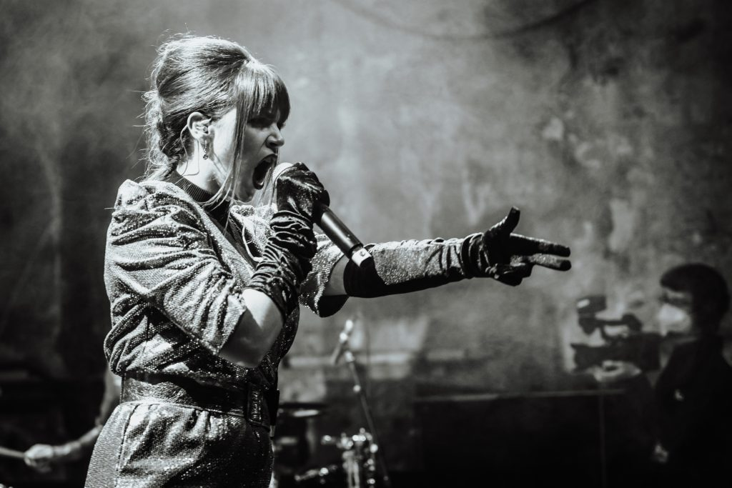 Sofia Portanet @ Kesselhaus – Photo: Christoph Mangler