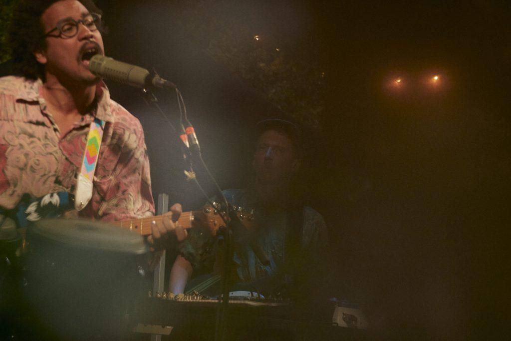 Dino Brandão @ Frannz Garten – Photo: Phillip Zwanzig