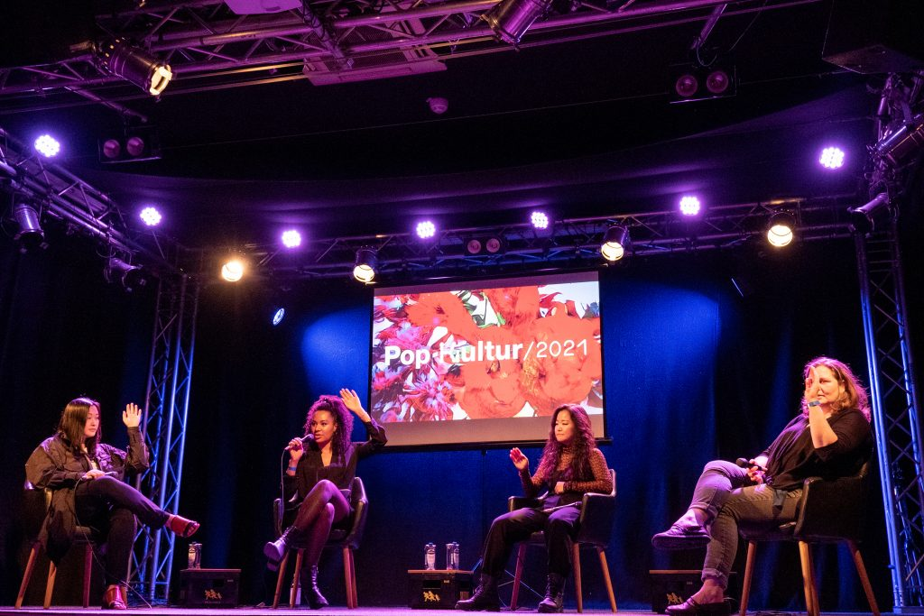»Diversity in the workplace – How to drive change« / Talk @ Frannz Club – Photo: Käthe deKoe