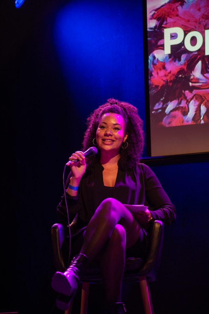 »Diversity in the workplace – How to drive change« (Yolanda Rother) / Talk @ Frannz Club – Photo: Käthe deKoe
