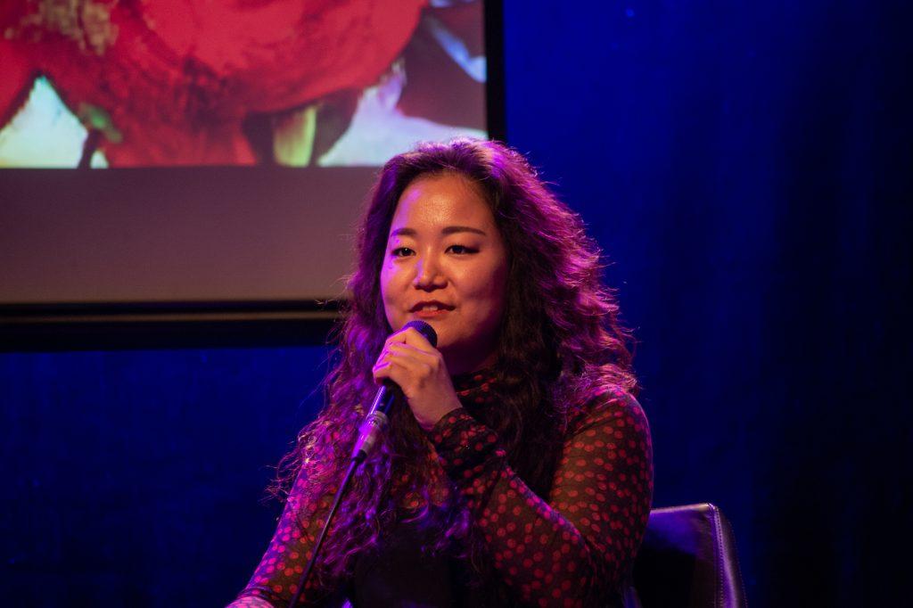 »Diversity in the workplace – How to drive change« (Ye Jin Lee) / Talk @ Frannz Club – Photo: Käthe deKoe