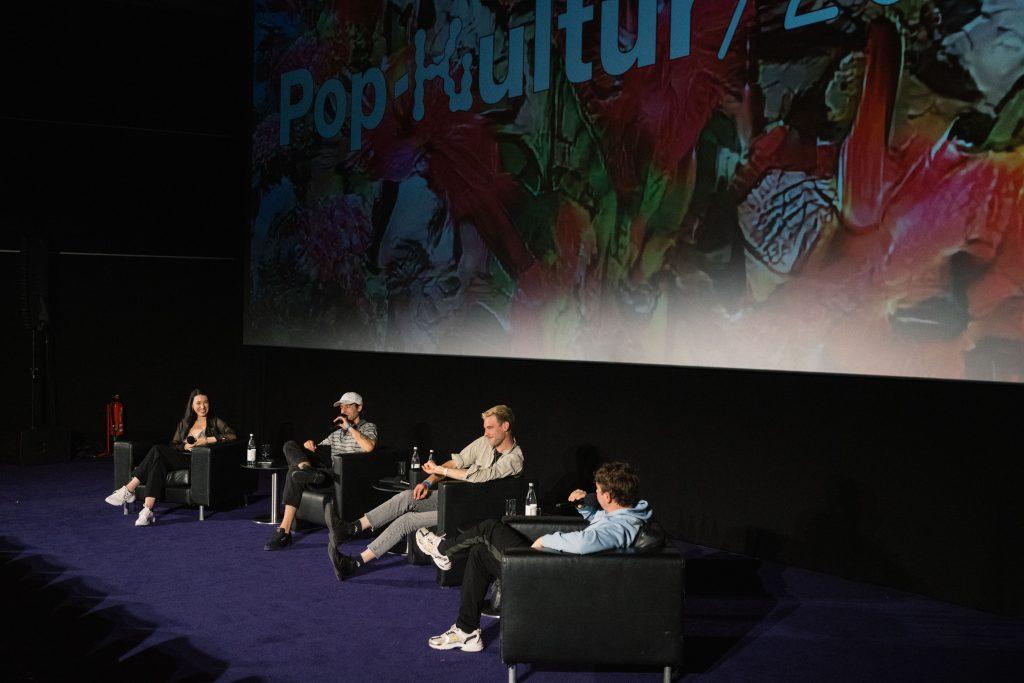»Erotik Toy Records – Freundschaft, Rap und Zärtlichkeit« / Talk @ Kino in der Kulturbrauerei – Photo: Camille Blake