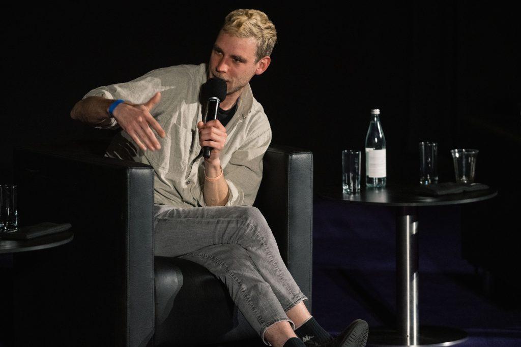 »Erotik Toy Records – Freundschaft, Rap und Zärtlichkeit« (Jay Pop) / Talk @ Kino in der Kulturbrauerei – Photo: Camille Blake
