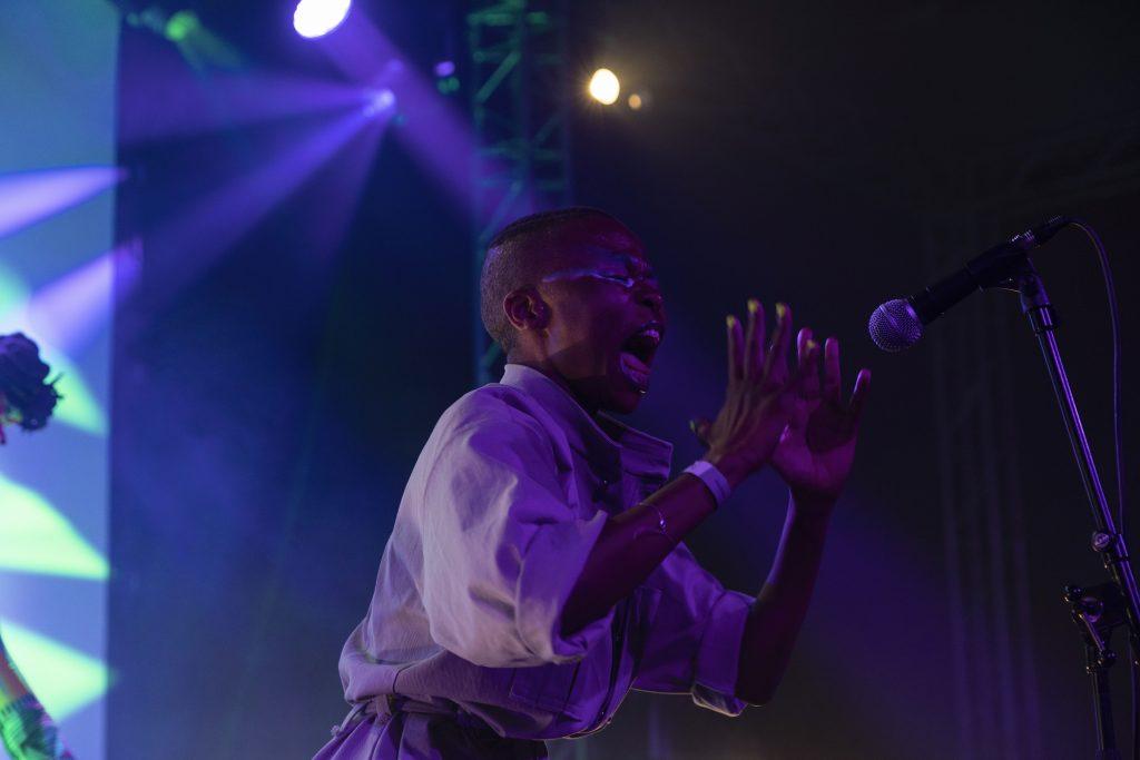 Floyd Lavine presents Omang @ Palais – Photo: Dominique Brewing