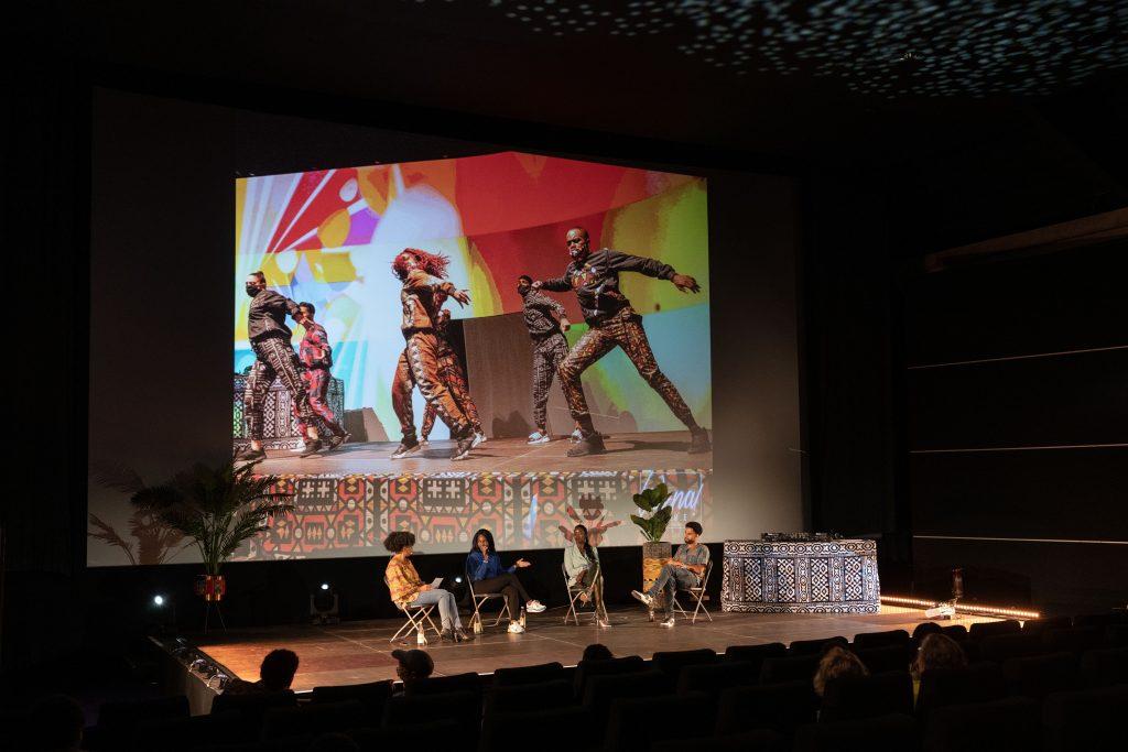 Freak de l'Afrique: »Afro x Beats x Berlin« / Talk @ Kino in der Kulturbrauerei – Photo: Camille Blake