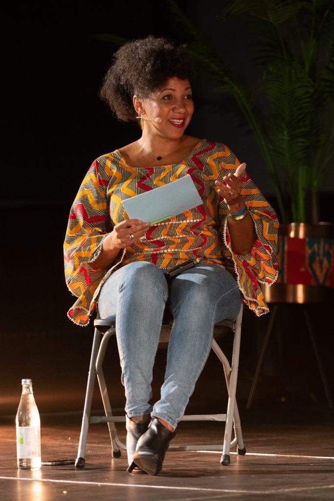 Freak de l'Afrique: »Afro x Beats x Berlin« (Miriam Camara) / Talk @ Kino in der Kulturbrauerei – Photo: Camille Blake