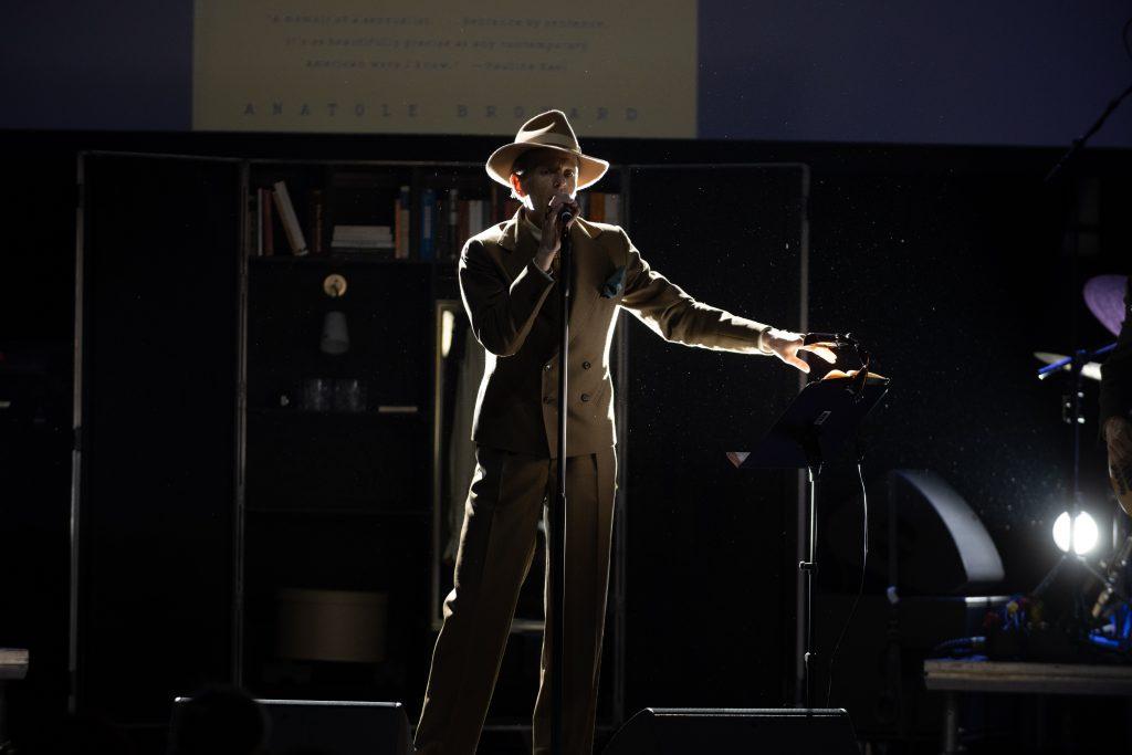 »I'm only Dancing – Scheer singt Bowie« @ Kesselhaus – Photo: Camille Blake