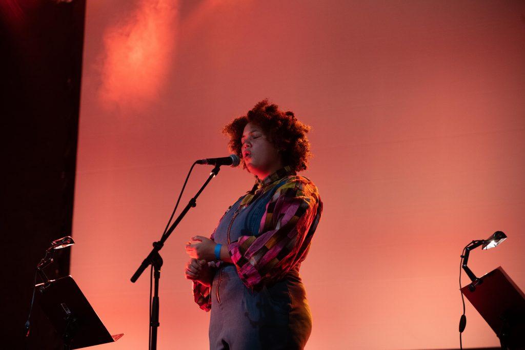 Natalie Greffel with Nick Dunston & Eric Vaughn @ Palais – Photo: Camille Blake