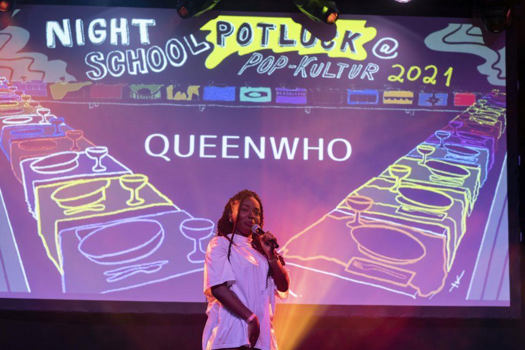 Night School Berlin: Queen Who @ Palais – Photo: Dominique Brewing