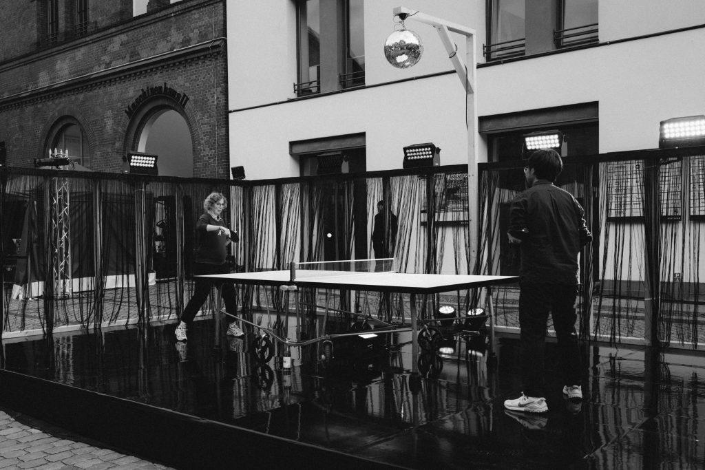 Ping Pong Chat – Photo: Camille Blake