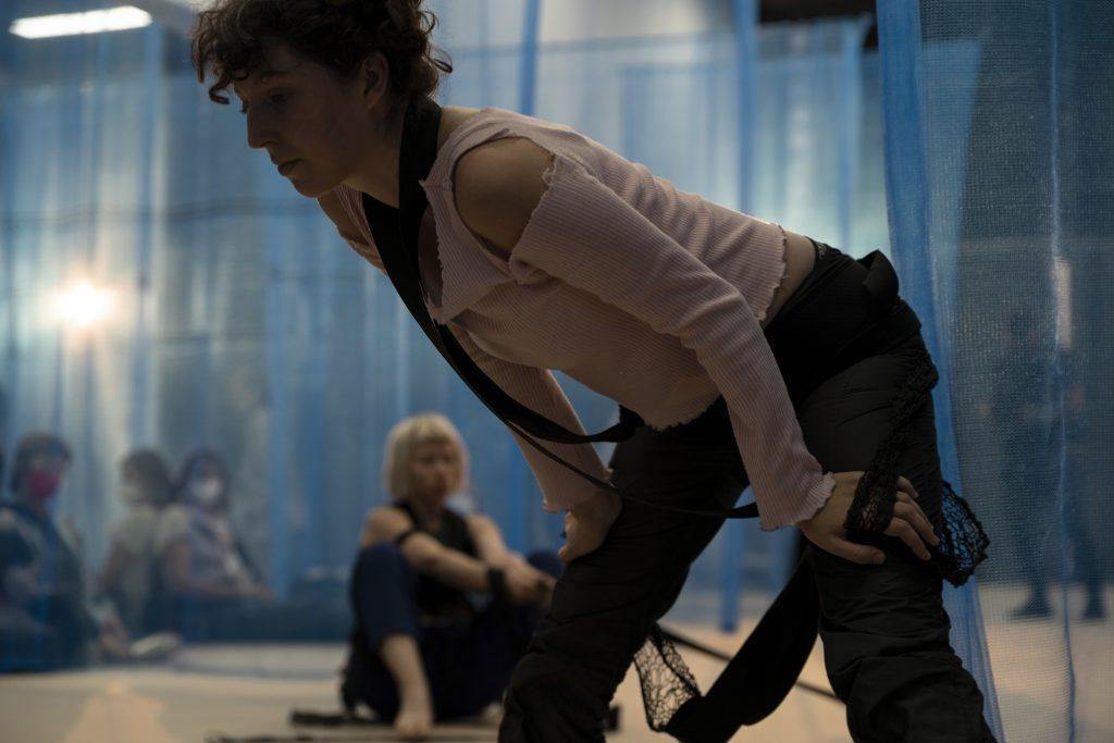 Grażyna Roguski (SEXES Kollektiv) @ Center of Dance – Photo: Dominique Brewing