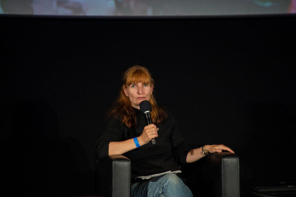 »Tremolo – Ein Film über Musik für Gehörlose und Hörende« (Sonja Eismann) / Film & Talk @ Kino in der Kulturbrauerei – Photo: Käthe deKoe