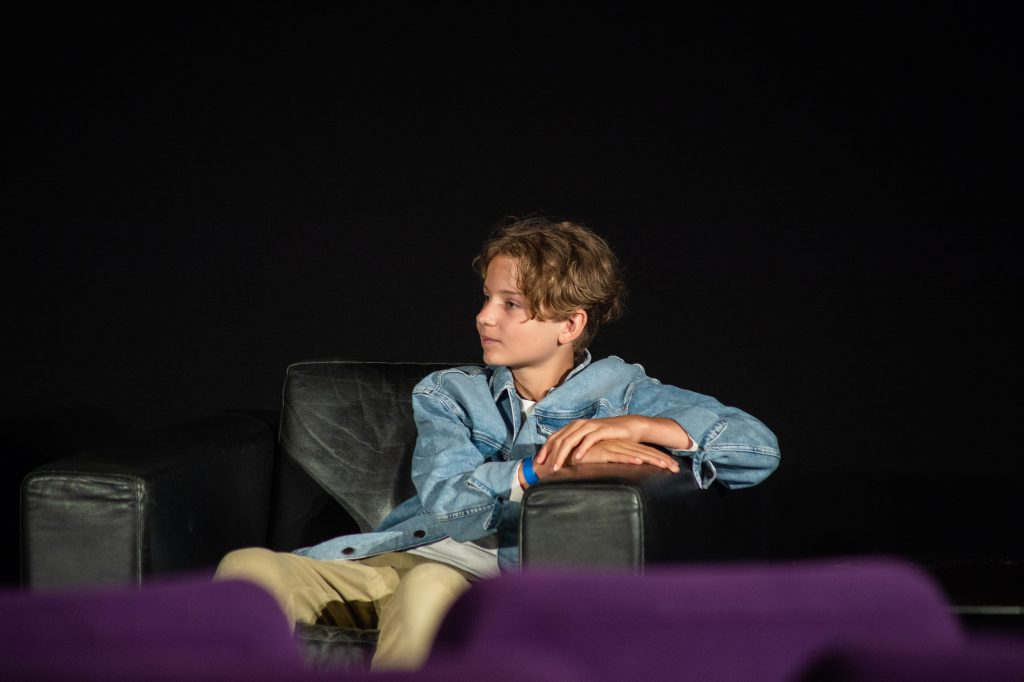 »Tremolo – Ein Film über Musik für Gehörlose und Hörende« (Ben Kermer) / Film & Talk @ Kino in der Kulturbrauerei – Photo: Käthe deKoe